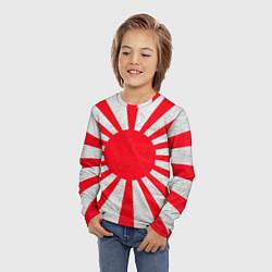 Лонгслив детский Япония цвета 3D — фото 2