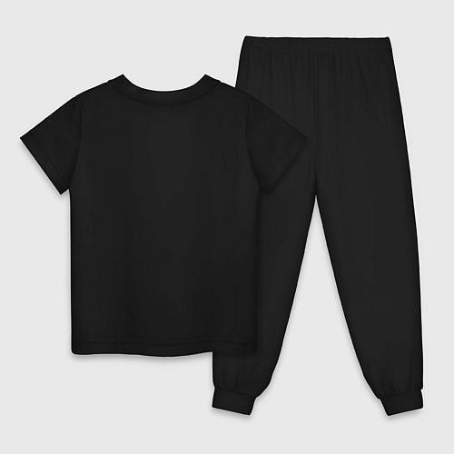 Детская пижама СЕМПАЙ - SENPAI / Черный – фото 2