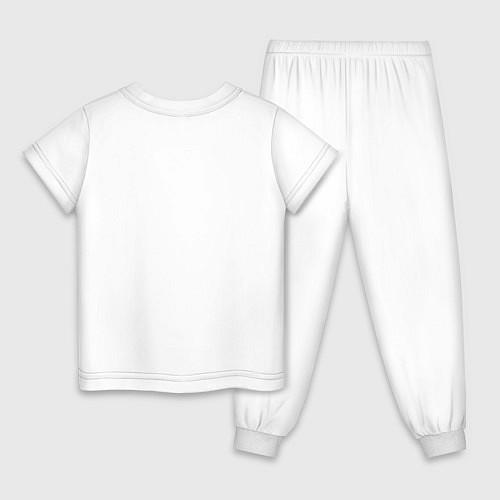 Детская пижама Roblox Dab / Белый – фото 2