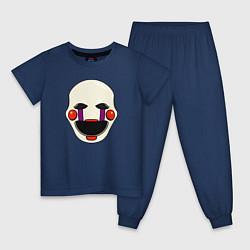 Пижама хлопковая детская Puppet FNAF Марионетка цвета тёмно-синий — фото 1