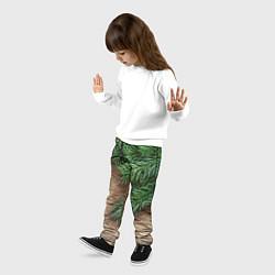 Брюки детские Дуx рождества цвета 3D-принт — фото 2