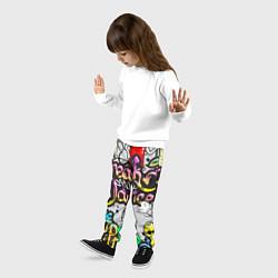 Брюки детские Break Show Dance цвета 3D-принт — фото 2