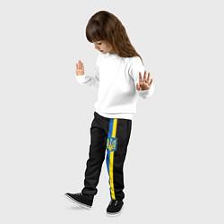 Брюки детские Украина цвета 3D-принт — фото 2