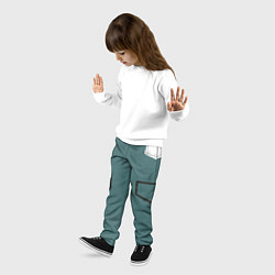 Брюки детские MHA IZUKU MIDORIYA цвета 3D-принт — фото 2