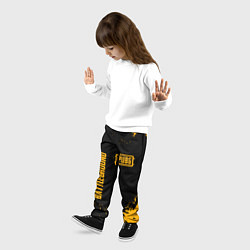 Брюки детские PUBG: Black Fashion цвета 3D — фото 2