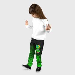 Брюки детские BRAWL STARS LEON цвета 3D — фото 2