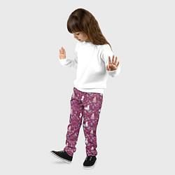 Брюки детские Холодное сердце 2 цвета 3D — фото 2