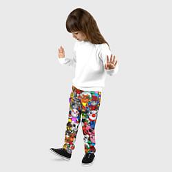 Брюки детские ROBLOX PIGGY цвета 3D — фото 2