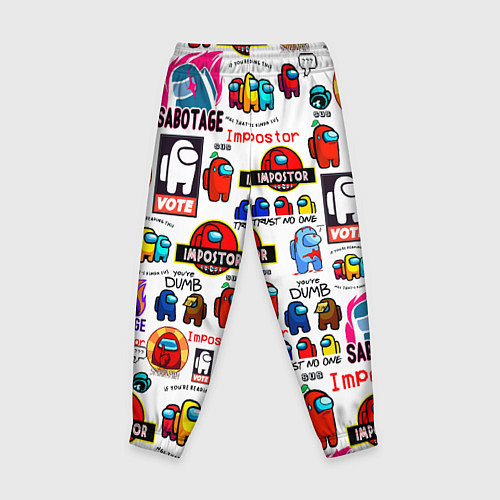 Детские брюки AMONG US / 3D – фото 2