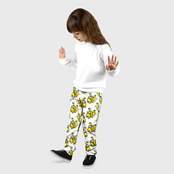 Брюки детские Among us Pikachu цвета 3D — фото 2