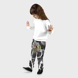 Брюки детские Travis Scott photo цвета 3D-принт — фото 2