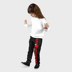 Брюки детские AMONG US цвета 3D-принт — фото 2