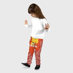 Брюки детские Ты горишь как огонь v2 цвета 3D — фото 2