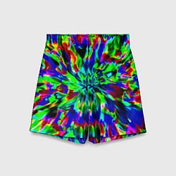 Шорты детские Оксид красок цвета 3D — фото 1