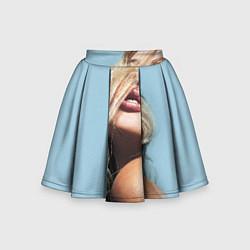 Детская юбка-солнце Страстная девушка, красивая