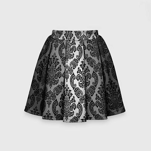Детская юбка-солнце Гламурный узор / 3D – фото 2