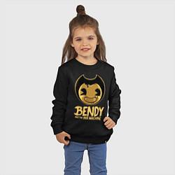 Свитшот хлопковый детский Bendy And The Ink Machine цвета черный — фото 2