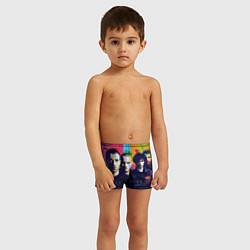 Плавки для мальчика Coldplay цвета 3D — фото 2