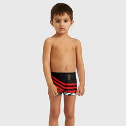 Плавки для мальчика Полиция: Камуфляж цвета 3D — фото 2