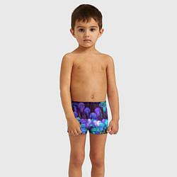 Плавки для мальчика Неоновые медузы цвета 3D — фото 2