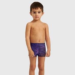 Плавки для мальчика НЕОНОВАЯ ДОРОГА цвета 3D — фото 2
