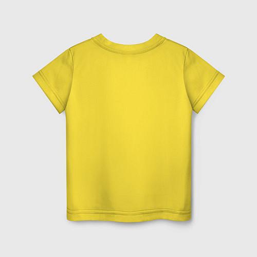 Детская футболка The best man / Желтый – фото 2