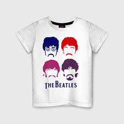 Детская футболка The Beatles faces