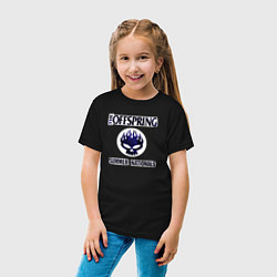 Футболка хлопковая детская Summer nationals цвета черный — фото 2