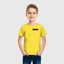 Футболка хлопковая детская WandaVision цвета желтый — фото 2