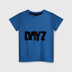 Футболка хлопковая детская DayZ цвета синий — фото 1