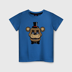 Футболка хлопковая детская Freddy FNAF цвета синий — фото 1