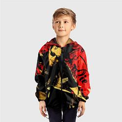 Ветровка с капюшоном детская Redwood original цвета 3D-черный — фото 2