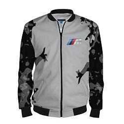 Бомбер мужской BMW 2018 M Sport Creative цвета 3D-черный — фото 1