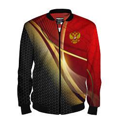 Мужской бомбер RUSSIA SPORT: Gold Collection