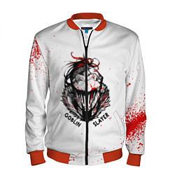 Бомбер мужской Убийца Гоблинов цвета 3D-красный — фото 1