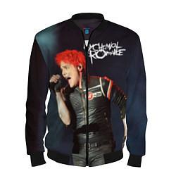Бомбер мужской Gerard Way цвета 3D-черный — фото 1