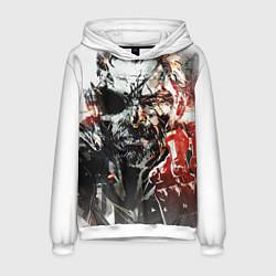 Толстовка-худи мужская Metal gear solid 5 цвета 3D-белый — фото 1