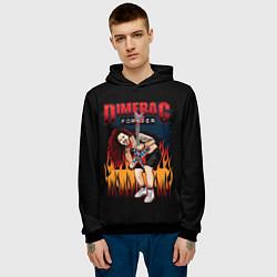 Толстовка-худи мужская Pantera: Dimetag Forever цвета 3D-черный — фото 2