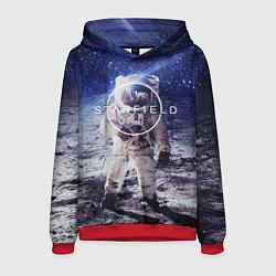 Толстовка-худи мужская Starfield: Astronaut цвета 3D-красный — фото 1