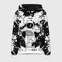 Толстовка-худи мужская NASA Astronaut цвета 3D-белый — фото 1