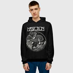 Толстовка-худи мужская Mastodon: Dark Witch цвета 3D-черный — фото 2