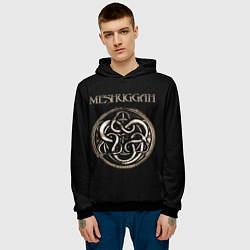 Толстовка-худи мужская Meshuggah цвета 3D-черный — фото 2