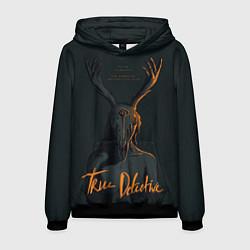 Толстовка-худи мужская True Detective цвета 3D-черный — фото 1