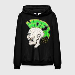 Толстовка-худи мужская NOFX Punks цвета 3D-черный — фото 1