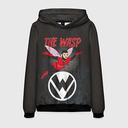 Толстовка-худи мужская The Wasp comics цвета 3D-черный — фото 1