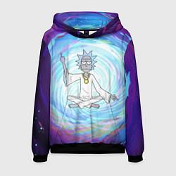 Толстовка-худи мужская Rick in Nirvana цвета 3D-черный — фото 1