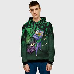 Толстовка-худи мужская Joker Games цвета 3D-черный — фото 2