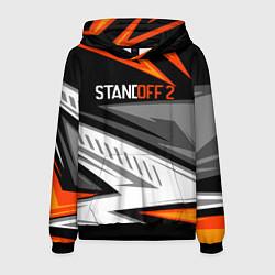 Толстовка-худи мужская Standoff 2 цвета 3D-черный — фото 1