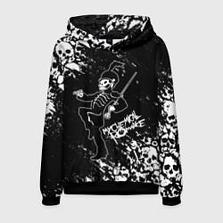 Толстовка-худи мужская My Chemical Romance цвета 3D-черный — фото 1