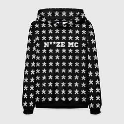 Толстовка-худи мужская Noize MC цвета 3D-черный — фото 1